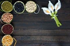 Cereals, healthy food, fibre, protein, grain, antioxidant Royalty Free Stock Image