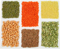 Cereals and legumes Stock Photography