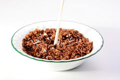 Cereals and milk Royalty Free Stock Photo