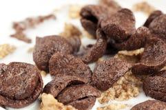 Cereals in milk Stock Photos