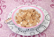 Cereals with milk Stock Photos