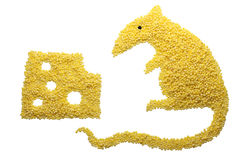 Cereals mouse Stock Images