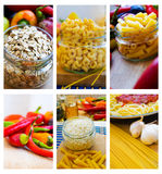 Cereals and pasta Royalty Free Stock Photos