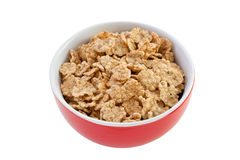Cereals in the red bowl Stock Photo