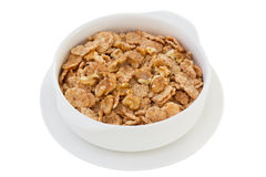 Cereals with walnut Stock Images