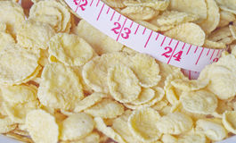 Cereals for weight control Royalty Free Stock Images