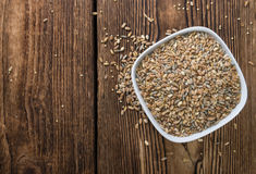 Cereals (wheat, rye, barley, oat and millet) Stock Image