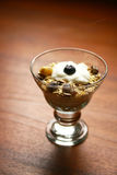 Cereals and yogurt Royalty Free Stock Image