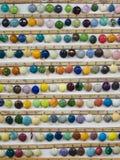 Cereamic färgexpo och demonstration typer av färger till gjort keramiskt vektor illustrationer