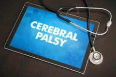 Cerebralnego palsy diagnozy medyczny pojęcie (neurologiczny nieład) zdjęcie royalty free