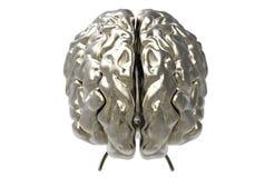 Cerebro con la máscara del recortes Imagen de archivo libre de regalías