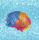 Cerebro de la creatividad Foto de archivo