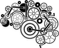 Cerebro del engranaje Fotografía de archivo libre de regalías