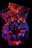 Cerebros electrónicos   Foto de archivo libre de regalías
