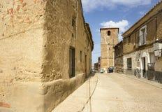 Cerecinos De Campos miasteczko Obraz Royalty Free
