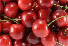 Cereja (cereja doce - vermelho) Foto de Stock Royalty Free