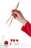Cereja de Chineese Fotografia de Stock Royalty Free