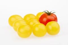 Cereja dos tomates Imagem de Stock Royalty Free