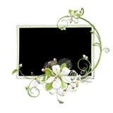 A cereja floresce o frame ilustração stock