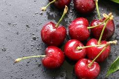 Cereja madura fresca Foto de Stock