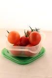 Cereja-tomates Fotografia de Stock
