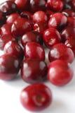 Cerejas de Bing vermelhas fotografia de stock royalty free