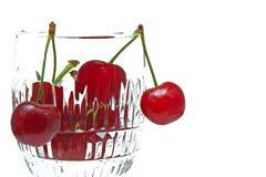 Cerejas deliciosas Imagens de Stock