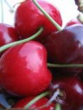 Cerejas deliciosas Fotografia de Stock