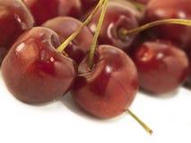 Cerejas doces como um fundo Fim acima Fotografia de Stock Royalty Free
