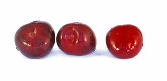 Cerejas doces frescas Foto de Stock