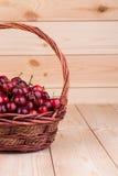 Cerejas frescas Imagens de Stock