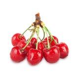 Cerejas maduras frescas Imagem de Stock