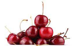 Cerejas saborosos frescas Fotografia de Stock Royalty Free