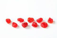 Cerejas secadas Imagem de Stock Royalty Free