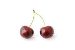 Cerejas vermelhas Imagem de Stock Royalty Free