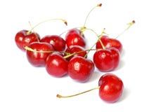 Cerejas vermelhas Imagem de Stock