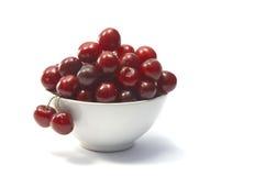 Cerejas vermelhas Fotografia de Stock Royalty Free