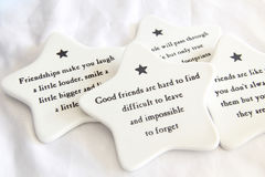 Ceremic Coasters Stock Image
