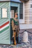 Ceremoniału strażnik przy Prezydenckim pałac Zdjęcie Stock