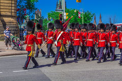 Ceremoniału strażnika parada Obrazy Royalty Free