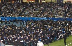 ceremonia 2008 de graduación de la universidad de estado de Georgia Imagen de archivo libre de regalías