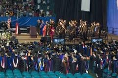 ceremonia 2008 de graduación de la universidad de estado de Georgia Imagenes de archivo