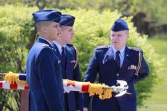 Ceremonia 2012 de graduación de la universidad de Clarkson foto de archivo