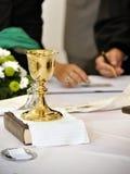 Ceremonia cristiana Imágenes de archivo libres de regalías