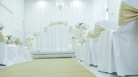 Ceremonia de boda almacen de video