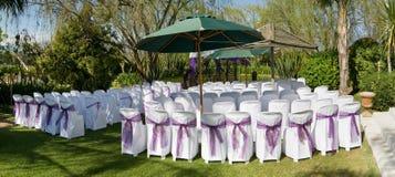 Ceremonia de boda al aire libre imagenes de archivo