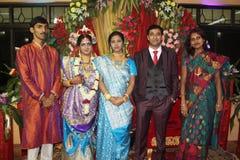 Ceremonia de boda india Foto de archivo