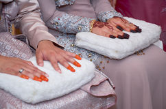 Ceremonia de boda malaya en Kuala Lumpur Fotografía de archivo libre de regalías