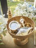 Ceremonia de boda tailandesa Imagen de archivo libre de regalías
