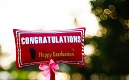 Ceremonia de graduación Fotos de archivo libres de regalías